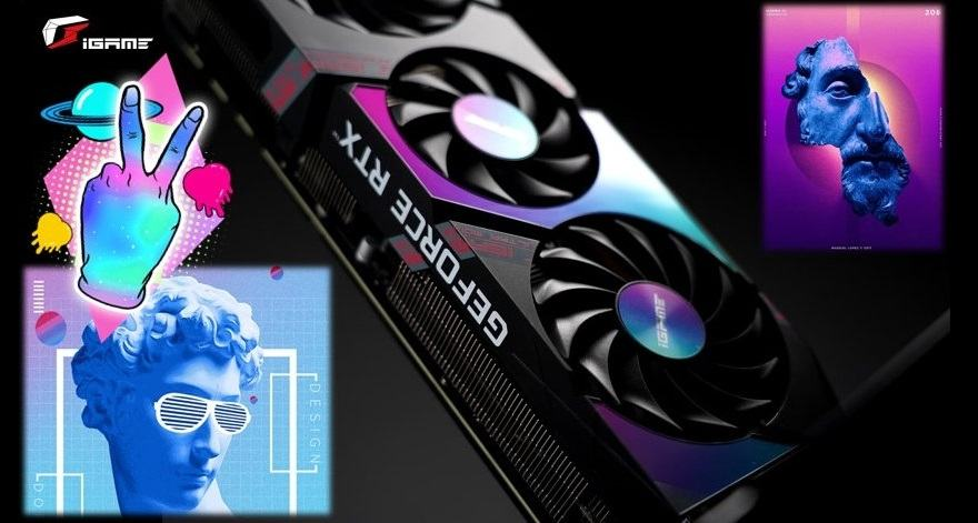 colorida GeForce RTX 3080 iGame Ultra Limited White Edition